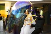 Шоу - Гигантских Мыльных Пузырей на Ваш праздник