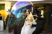 Шоу - Гигантских  Мыльных Пузырей на Свадьбу,  День рождения,  Юбилей...