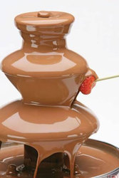 Шоколадный фонтан-Лакомство для сладкоежек