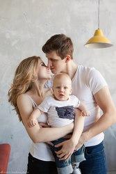 Теплые семейные карточки от фотографа Светланы Киселевой