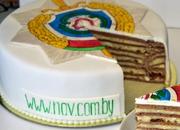 http://nav.com.by/ Художественное оформление тортиков и пряников.